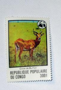 Congo - 458, MNH. Buffon's Kob; Wildlife Fund. SCV - $15.00