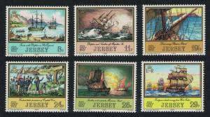Jersey Adventurers 1st series 6v 1983 MNH SG#304-309