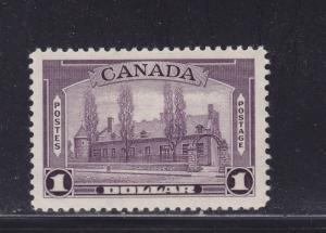 Canada Scott # 245 XF OG never hinged nice color cv $ 115 ! see pic !