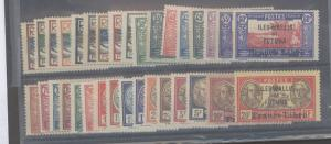 Wallis & Futuna 94--126 Mint F-VF H several NH