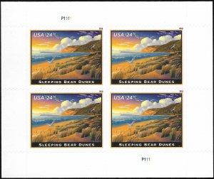 WCstamps: U.S. Scott #5258 / $200 - $24.70 Sleeping Bear Dunes Pane Of 4