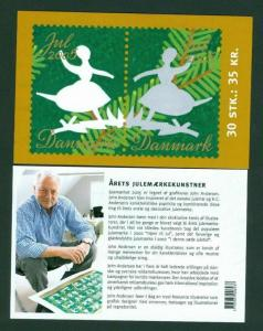 Denmark.  Booklet 2005 With 30 Christmas Seals Mnh. H.C. Andersen Papercut.