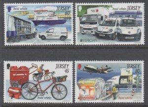 Jersey 1659-1662 MNH VF
