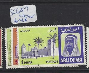 ABU DHABI  (PP0910B) SG  65-7   VFU
