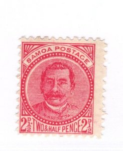 Samoa #14b Used - Stamp CAT VALUE $4.25