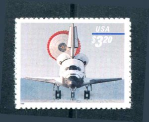#3261 SPACE SHUTTLE EXPRESS MAIL 1998  $3.20 MNH (6r)