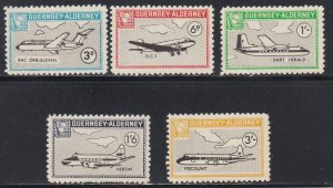 Guernsey -Alderney, Local Issues, Airplanes, NH