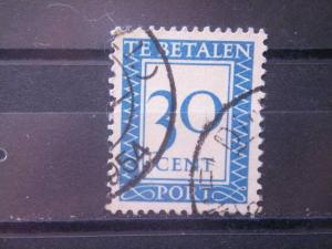 NETHERLANDS, 1948, used 30c, Scott J97