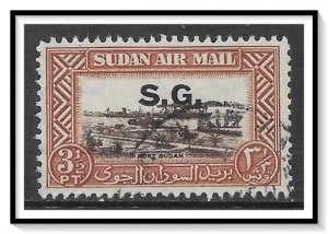 Sudan #CO4 Airmail Official Used
