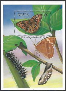 Nevis #802 MNH Souvenir Sheet cv $5.75