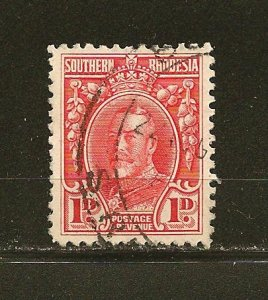 Southern Rhodesia 17 King George V Used