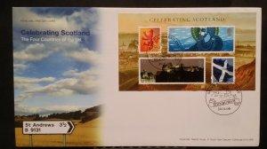 2006 FDC Celebrating Scotland MS Saint Andrews Day Edinburgh SHS