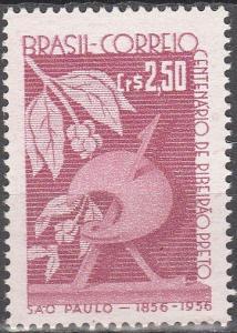 Brazil #858 F-VF Unused