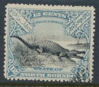 North Borneo  SG 106 Used  perf 14 please see scan & details
