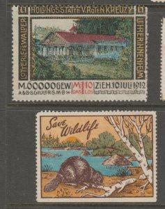 WW Cinderella stamp 8-19-10