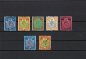 bermuda 1938 high value up to one pound £1 mounted mint stamps ref r12477