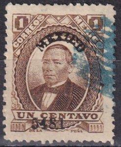 Mexico #123  F-VF Used  CV $4.00  (Z6259)
