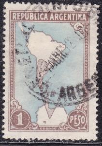 Argentina 594 USED 1951 Antarctic Land Claims
