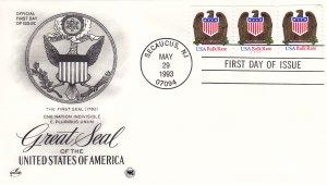 1993, Great Seal of US-Bulk Rate, Artcraft/PCS, FDC (E9212)