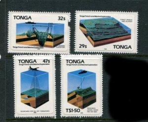 Tonga #597-600 MNH