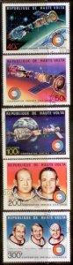 Burkina Faso 1975 SC# 3701-1,C216-8 Space CTO L59