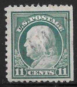 USA 511: 11c Franklin, used, SE