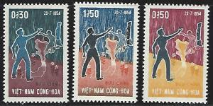 Viet Nam (South) #239-241 Mint Hinged Full Set of 3