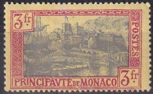 Monaco #90  F-VF Unused CV $25.00 (Z5802)