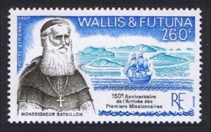 Wallis and Futuna Arrival of First Missionaries SG#526 SC#C155