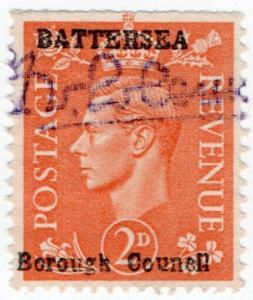 (I.B) George VI Commercial Overprint : Battersea Borough Council