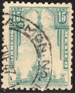 MEXICO 795A 15cents 1934 Definitive wmk S.H.C.P. (272) Used. F-VF. (1012)