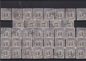 Bahawalpur 1945 Service Stamps Cat 300+ ref R 17847