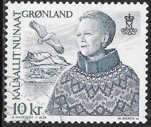 Greenland 374 Used - Queen Margrethe