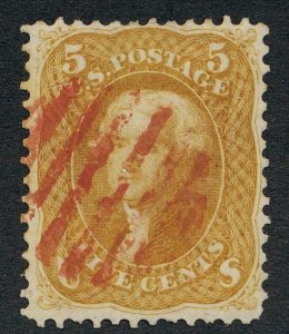 UNITED STATES (US) 67 USED F-VF LIGHT CANCEL WITH PFC