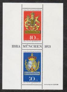 Germany Bund Scott # B502, mint nh, s/s