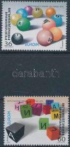 Makedonien stamp Europa CEPT: Integration set MNH 2006 Mi 388-389 WS173118