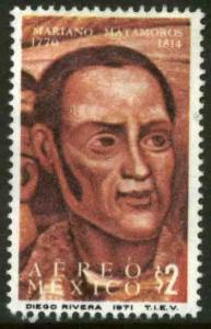 MEXICO C388, Bicentenary of the birth of Mariano Matamoros, MINT, NH. F-VF.