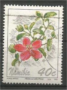 NAMIBIA, 1994, used 40c, Flowers:. Scott 763