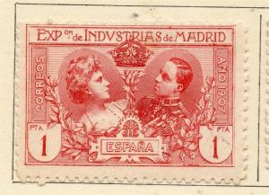 Spain 1907 Early Issue Fine Mint Hinged 1P. 308924