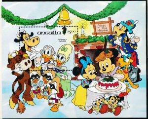 DISNEY ANGUILLA 605 MINT NH CHRISTMAS 1984 BOXING DAY