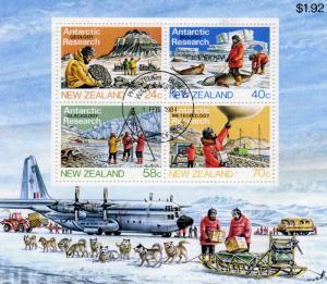 New Zealand Antarctic Geology Research MNH M/s