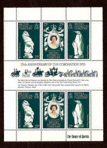 BRITISH ANTARCTIC TERR - 1978 - QE II - CORONATION ANNIVERSARY - MINT MNH S/S!