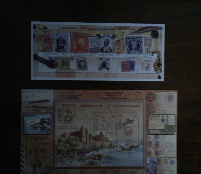 2 Exclusive Miniature Sheets from 2010 & 2011