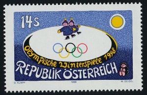 Austria 1748 MNH Winter Olympics, Nagano