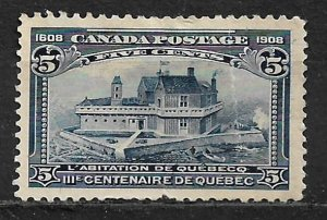COLLECTION LOT OF #99 CANADA 1908 CV=$70