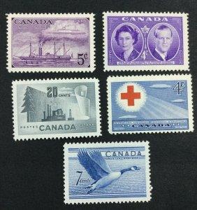MOMEN: CANADA SG # 1951-2 MINT OG H £ LOT #7116