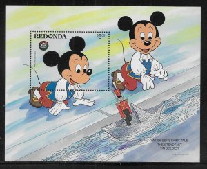 Redonda Disney 1986 Christmas Steadfast Tin Soldier MNH