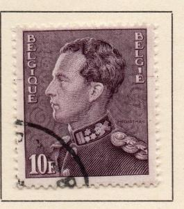 Belgium 1936 Early Issue Fine Used 10F. 124682