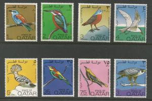 Qatar  Scott #279-286  Mint H  Scott CV $85.00