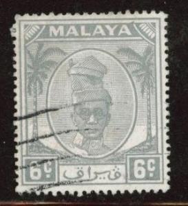 MALAYA Perak Scott 109 used stamp from 1950